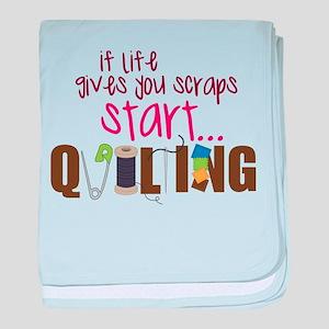 Start Quilting baby blanket