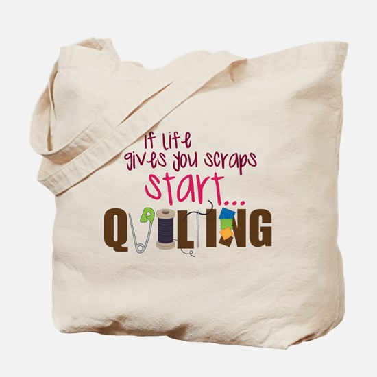 Start Quilting Tote Bag