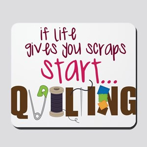 Start Quilting Mousepad