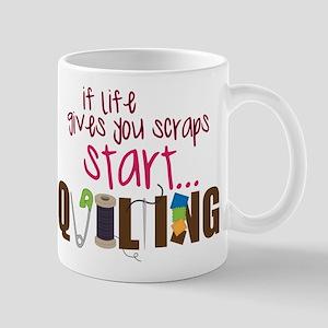 Start Quilting Mug