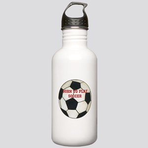 Soccer Stainless Water Bottle 1.0L