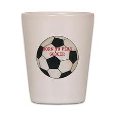 Soccer Shot Glass