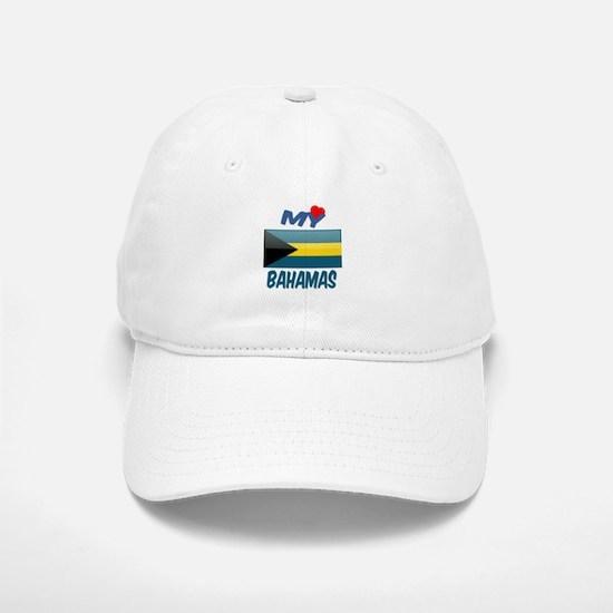 My Love Bahamas Baseball Baseball Cap