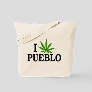 I Love Cannabis Pueblo Colorado Tote Bag
