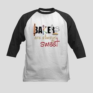 Bakers Are Always Sweet Kids Baseball Jersey
