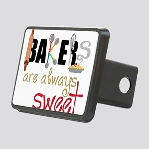 Bakers Are Always Sweet Rectangular Hitch Cover