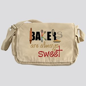 Bakers Are Always Sweet Messenger Bag