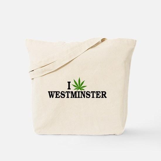 I Love Cannabis Westminster Colorado Tote Bag