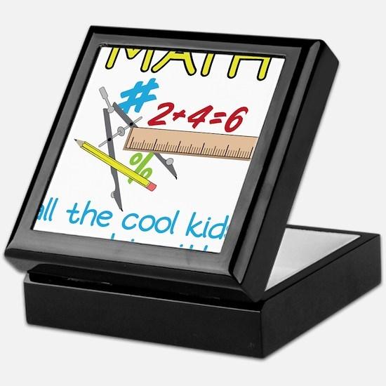 Math Keepsake Box