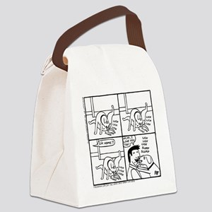 The Homecoming Canvas Lunch Bag
