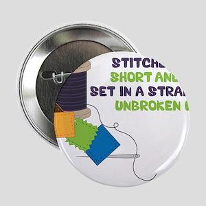 "Stitches 2.25"" Button"