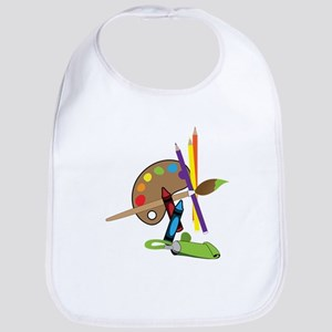 Artist Color Pallet Bib