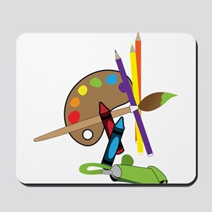 Artist Color Pallet Mousepad