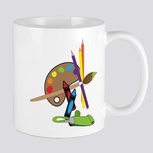 Artist Color Pallet Mug