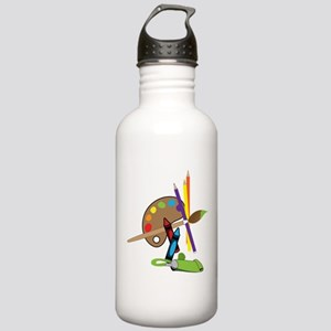 Artist Color Pallet Stainless Water Bottle 1.0L