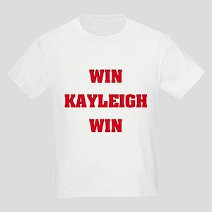WIN KAYLEIGH WIN Kids T-Shirt