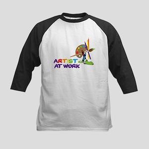 Artist At Work Kids Baseball Jersey