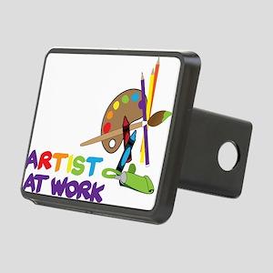 Artist At Work Rectangular Hitch Cover