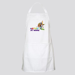 Artist At Work Apron