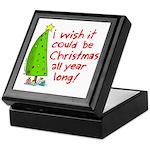 Christmas wish Keepsake Box