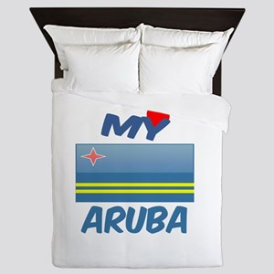 My Love Aruba Queen Duvet