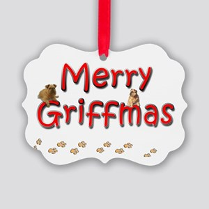 Griffmas Picture Ornament