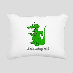 LaissezlesLTShirt Rectangular Canvas Pillow