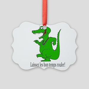 LaissezlesLTShirt Picture Ornament
