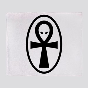 Ankh Throw Blanket