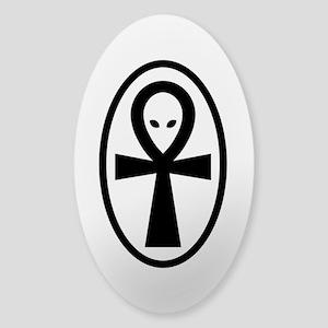 Ankh Sticker (Oval)