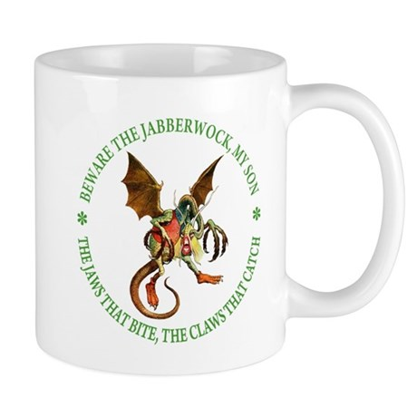 Beware the Jabberwock, My Son Mug
