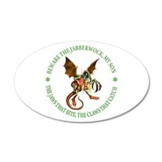 Beware the Jabberwock, My Son Wall Decal