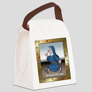 SingingNunTile Canvas Lunch Bag