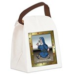 SingingNunTile Canvas Lunch Bag