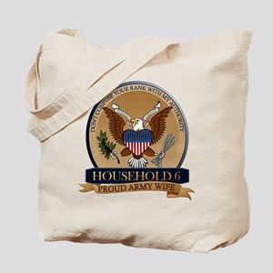 Household 6 - Army Wife Tote Bag