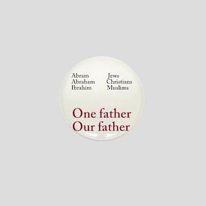 Abraham Our Father Mini Button