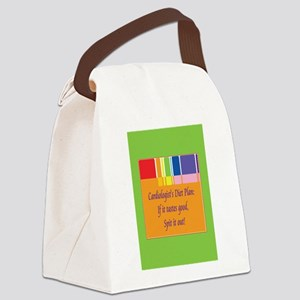 CardiologistBlahDietCards Canvas Lunch Bag