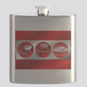 WhewTri2postcard Flask