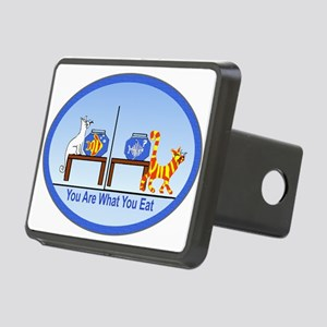 You are what you eat2 Rectangular Hitch Cover