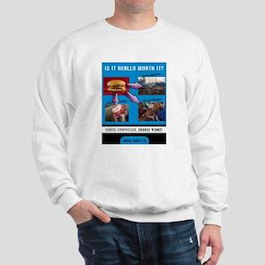 Choose Compassion, Choose Vegan Sweatshirt