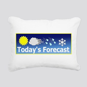 Forecast1 Rectangular Canvas Pillow
