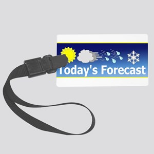 Forecast1 Large Luggage Tag