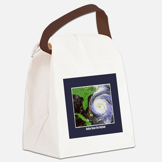 hurricane.png Canvas Lunch Bag