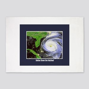 hurricane 5'x7'Area Rug