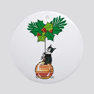 Boston on Ornament Ornament (Round)
