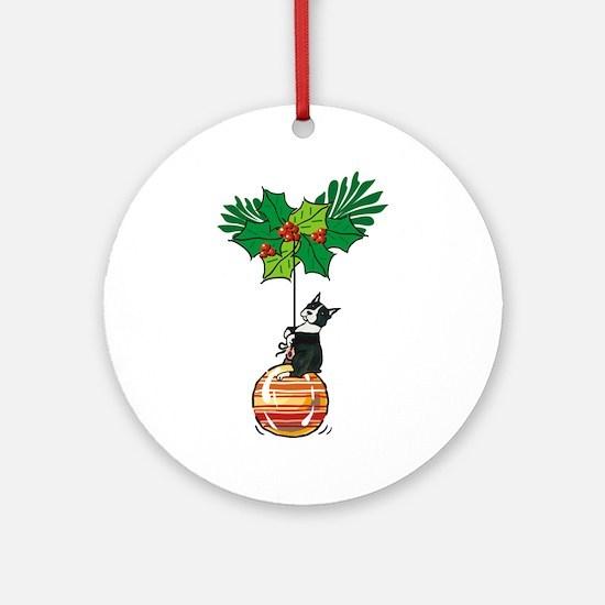 Boston on Ornament Ornament (Round)