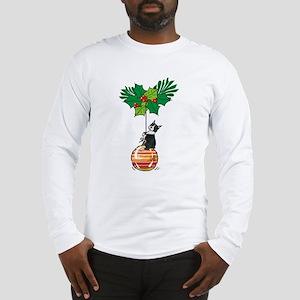 Boston on Ornament Long Sleeve T-Shirt