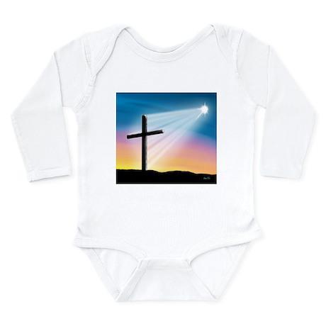 Sunset Cross Enlightened 10x10 Long Sleeve Infant