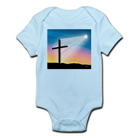 Sunset Cross Enlightened 10x10 Infant Bodysuit