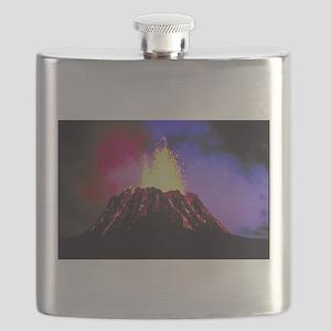 KilaueaSkin Flask